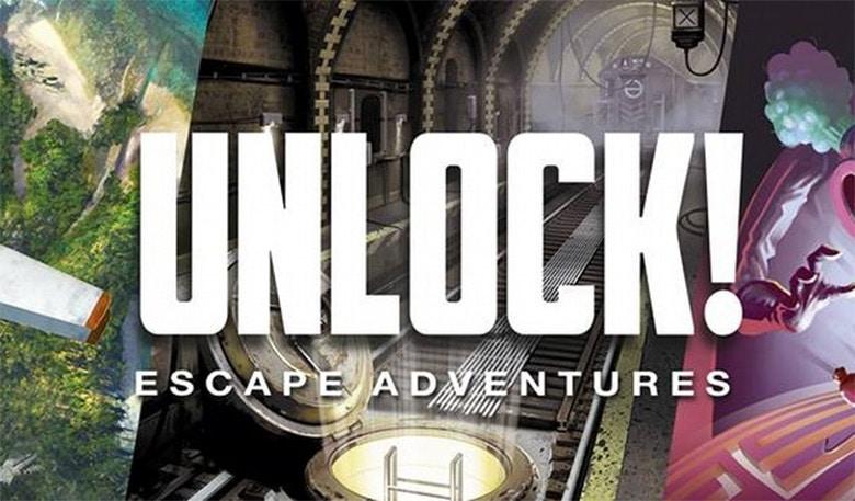 Jouez en famille au jeu de société escape game Unlock !